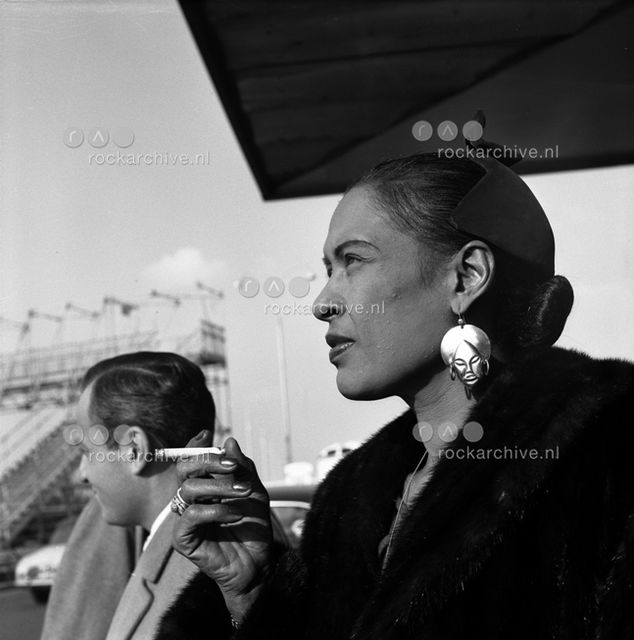 Jean-Pierre Leloir, Silver Gelatin Print, Billie Holiday, Paris 1958, 1958