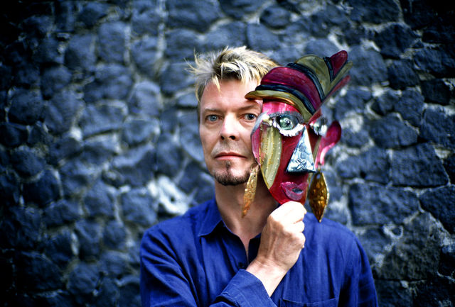 Fernando Aceves, Fine art digital print, signed and numbered, David Bowie, Mexico City, 1997