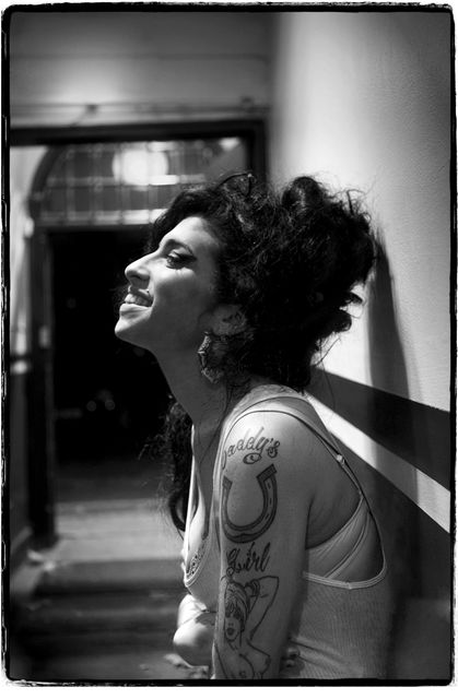 Jill Furmanovsky, Fine art digital print, signed and numbered, Amy Winehouse, Union Chapel, London, 2006