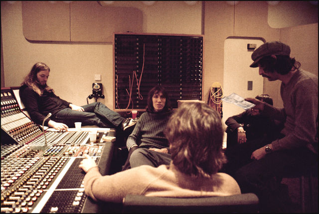 Jill Furmanovsky, Fine art digital print, signed and numbered, Pink Floyd, Abbey Road Studios, London, 1975