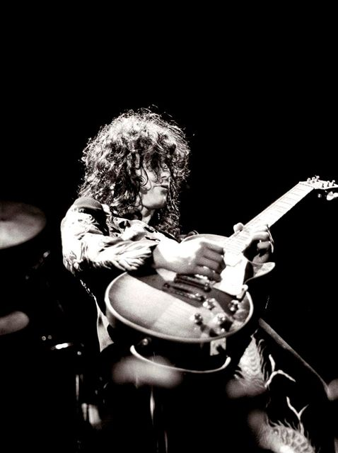 Jill Furmanovsky, Fine art digital print, signed and numbered, Led Zeppelin, Earls Court, London, 1975