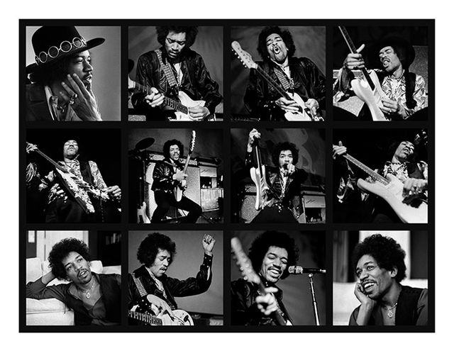 Baron Wolman, Fine art digital print, signed and numbered, Jimi Hendrix, San Franciso, 1968