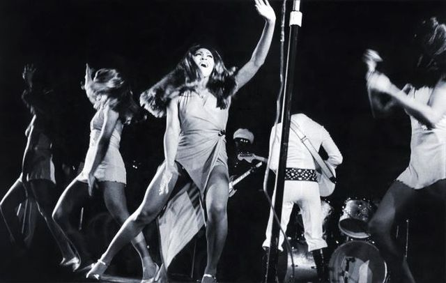 Gie Knaeps, Fine art digital print, signed and numbered, Ike and Tina Turner, Rotterdam, 1972